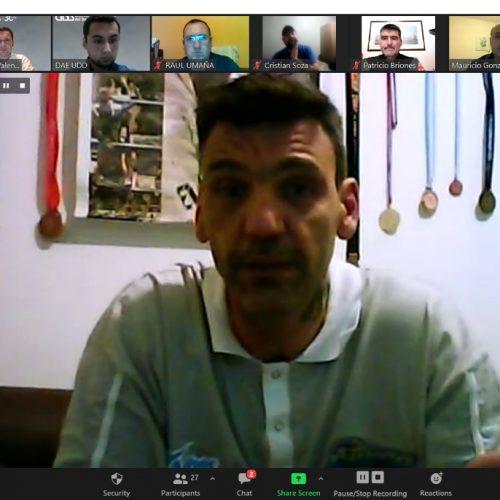 Deportes UDD realizó exitosa charla junto a Román González, medallista olímpico en Beijing 2008