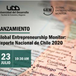 GEM Chile 2020: Actividad emprendedora en etapa inicial disminuye y retrocede a niveles de 2018