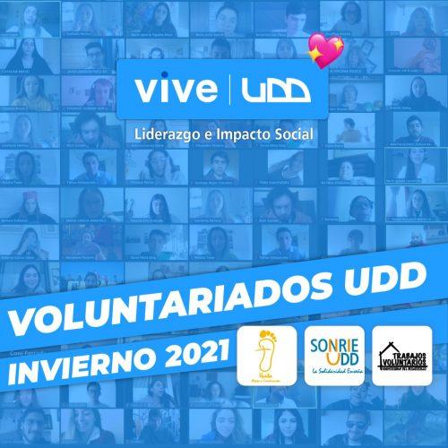 Voluntariados VIVE UDD ayudaron a la comunidad en las vacaciones de invierno
